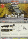 Krupp Protze Kfz.69 ,First To Fight, 1/72