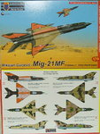 "Mikojan MiG-21 MF ""Fishbed J"", Third World Users KP, 1/72"