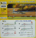 Let L-13/TZ-13 Blanik, Aeroclub Workhorse,  2in1,1/144, Mark I.Models