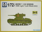 Soviet Light Tank T-26 B Mod.1933 ,1/72, S-Model, Double Set