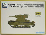 Soviet Light Tank T-26 B Mod.1933 with Antenna ,1/72, S-Model, Double Set