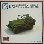 Willys MB with MG M1917, 1/72, S-Model, Limited Edition