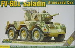 Armoured Car FV-601 Saladin, 1/72, ACE