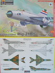 "Mikojan MiG-21 BIS ""Fishbed "" International Part I, KP, 1/72"