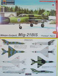 "Mikojan MiG-21 BIS ""Fishbed "" International Part II, KP, 1/72"