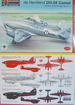 "De Havilland DH-88 Comet ""RAF and Foreign Srvice"", KP, 1/72"