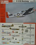 "P-51B Mustang  ""Dorsal Fin"" USAF , AZmodel, 1/72"