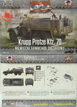 Light Truck Kfz.70 ,First To Fight, 1/72