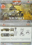 Heavy Armoured Personal Car Sd.Kfz.247 Ausf.A, First To Fight, 1/72