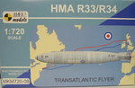 Airship HMA R33/34 ,Transatlantic Flyer, 1/720, Mark I