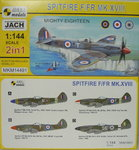 "Spitfire F/FR Mk.XVIII ""Mighty Eighteen"" , 1/144, Mark I.Doublekit"