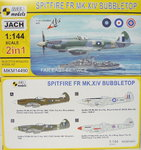 Spitfire FR Mk.XIV Bubbletop ,Far East Service, 1/144, Mark I.,Doublekit