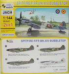Spitfire F/FR Mk.XIV Bubbletop , Europe, 1/144, Mark I.,Doublekit