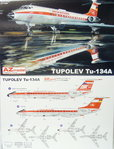 Tupolev Tu-134 A,Interflug, AZ Model, 1/144,