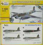 D.H.Mosquito B.IV, Wooden Bomber, 1/144, Mark I.