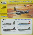 D.H.Mosquito B.IV/PR.IV, Swift Warrior, 1/144, Mark I.
