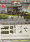 Krupp Protze Kfz.81 (light AA vehicle) ,First To Fight, 1/72