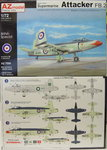 Supermarine Attacker FB.2, AZmodel, 1/72