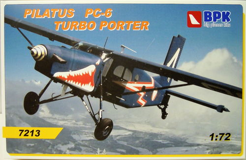 Pilatus Porter PC-6 Turbo Porter,1/72, BPK