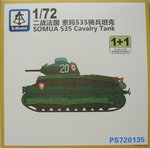 Somua S35, 1/72, S-Model, Double Set