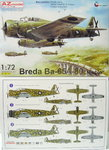 "Breda Ba-65 A-80 ""Nibbio"" over Spain, 1/72, AZmodel"