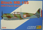 Bloch MB-155 , RS Models, 1/72