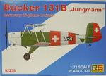 "Bücker Bü-133 B ""Jungmeister"" , International, RS-Model, 1/72"