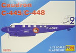 Caudron C-445/C-448 Goeland French Service, RS Models, 1/72