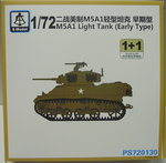 Light Tank M5A1 ( early), 1/72, S-Model, Doppelpack