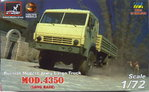 Russian Truck Mod.4350, (Long Base) Armory, 1/72