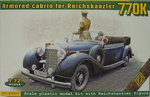 Armoured Cabrio for Reichskanzler 770K , 1/72, ACE