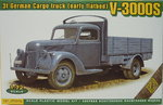 3t German Truck (early flatbed) V-3000S ,1/72, ACE