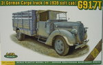 3t German Cargo Truck  (M.1939 soft cab) G917T , 1/72, ACE