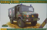 Unimog U1300L 4x4 Ambulance, 1/72, ACE