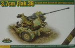 3,7 cm Flak 36 with Sd.Ah.52, 1/72, ACE