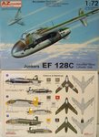 Junkers EF-128 C , Advanced Trainer ,Luftwaffe 1946, AZ Model, 1/72