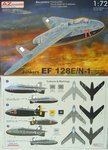 Junkers EF-128 E/N-1 , Naxos Radar ,Luftwaffe 1946, AZ Model, 1/72