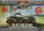 Heavy Armoured Car Sd.Kfz.263 (6 Wheel) , First To Fight, 1/72