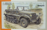 Sd.Kfz.10 Zugkraftwagen 1t (Demag D7), 1/72, Special Armour