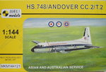 HS.748/Andover CC.2/T.2, Asian and Australian Service, 1/144, Mark I.