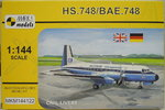 HS.748/ BAE.748, Civil Livery, 1/144, Mark I.