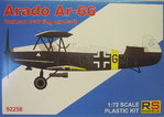Arado Ar-66 , RS Models, 1/72