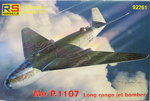 Messerschmitt P.1107, Long Range Jet Bomber, RS Models, 1/72